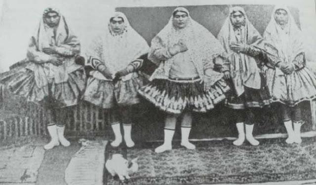harem del rey Naser al-Din Shah