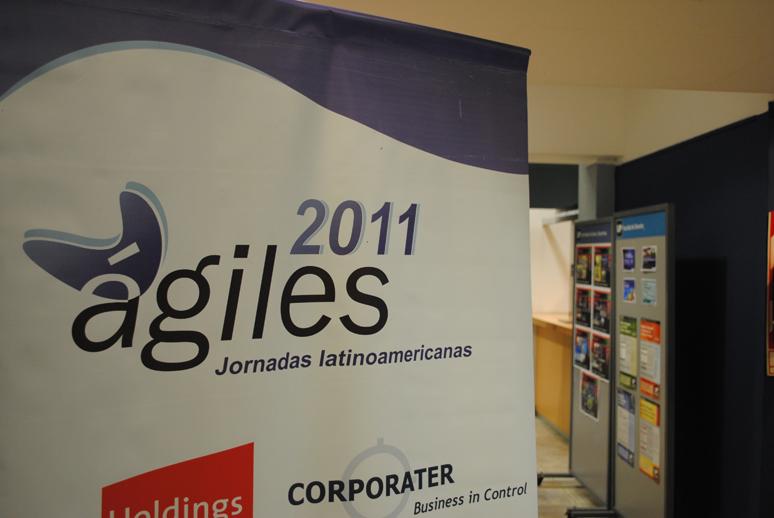 Foto de ágiles 2011 en la Universidad de Palermo - Buenos Aires - Argentina