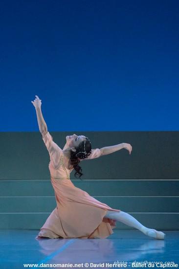 Maria Gutierrez (Juliette) dans Roméo et Juliette