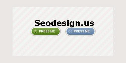Free Rounded Button
