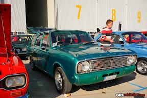 Green Ford Cortina