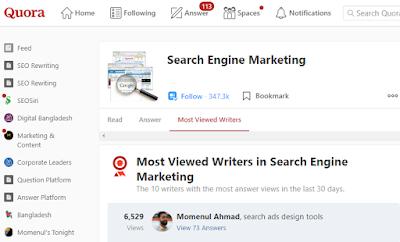Search Engine Marketing (SEM) Writer