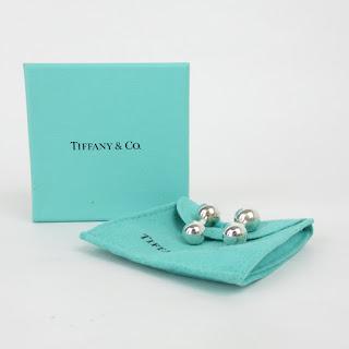 Tiffany & Co. Sterling Silver Cufflinks