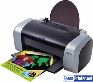 How to reset Epson C85 printer