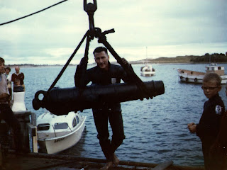 14 April 1968 - Recovery of the Cannon found at Apollo Bay Victoria - Jeff Anderson