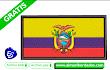Bordado Bandera del Ecuador 🥇 Descargar Gratis