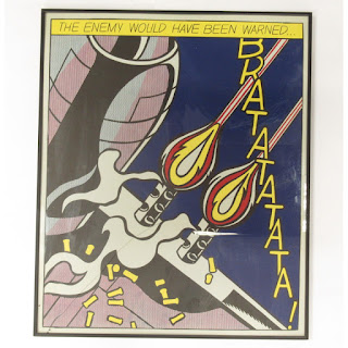 After Roy Lichtenstein Serigraph