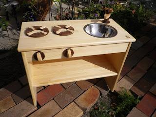 オーダ家具 子供用キッチン 知育玩具