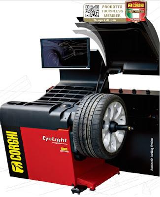Máy cân mâm ô tô Corghi EYE-LIGHT Diagnostic Line