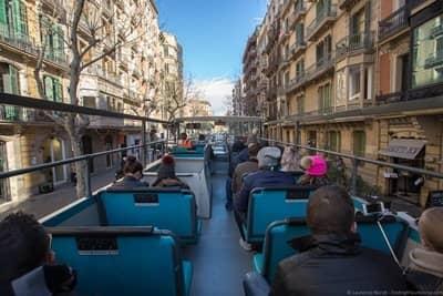 Hop on hop off bus tour Barcelona