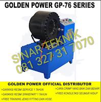 GOLDEN POWER GP 76 (INDUSTRIAL HOSE CRIMPER)