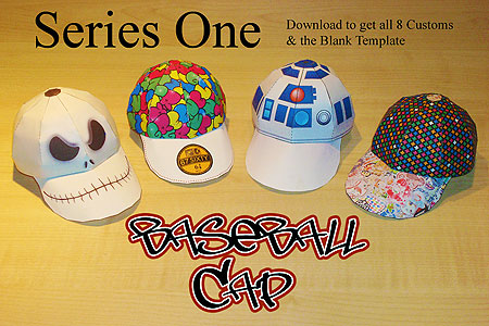 Sinner Baseball Cap Paper Toys Series One