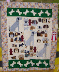 2005 Quilt Show - (J) Pieced Bed Machine Quilted