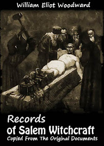 Cover of William Eliot Woodward's Book Records of Salem Witchcraft Copied From The Original Documents Vol 2
