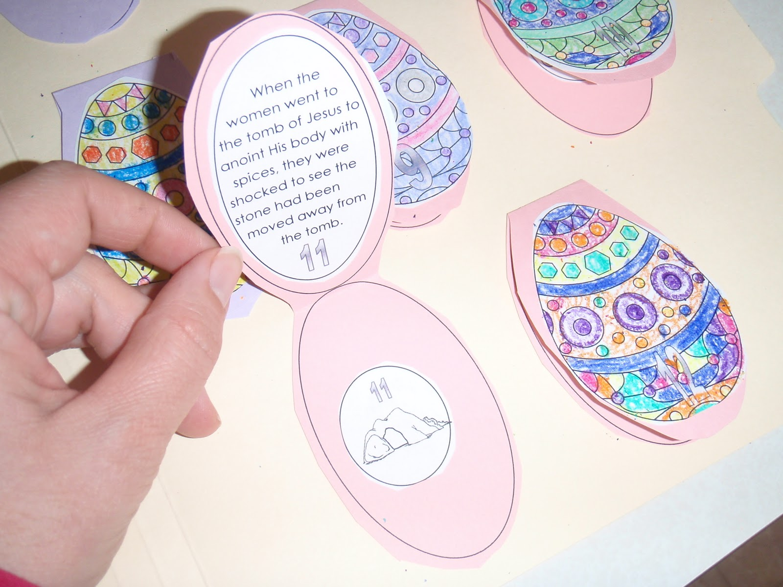resurrection eggs idea with printables teaching heart blog