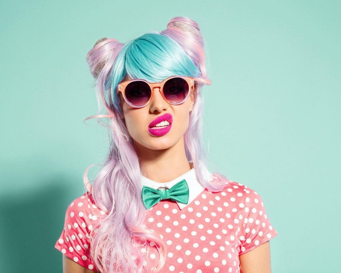 Give your hair a absolute makeover with some delicate color!