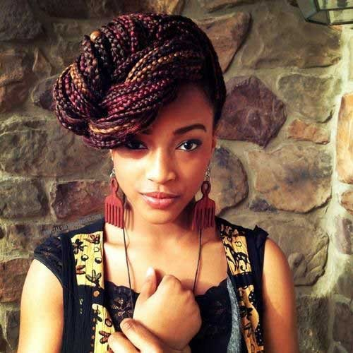 braids hairstyles for black women 2017