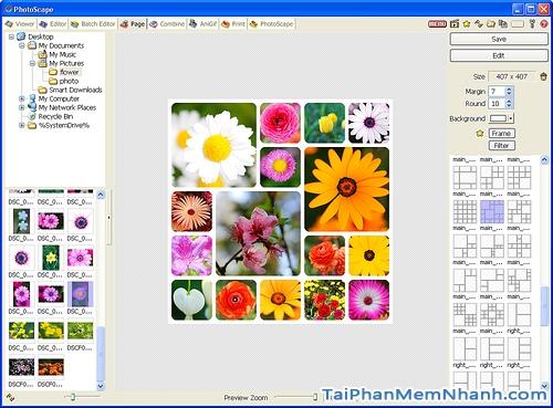 Ưu điểm của phần mềm sửa ảnh PhotoScape