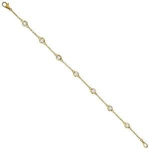 The Yard Bezel-Set Bracelet