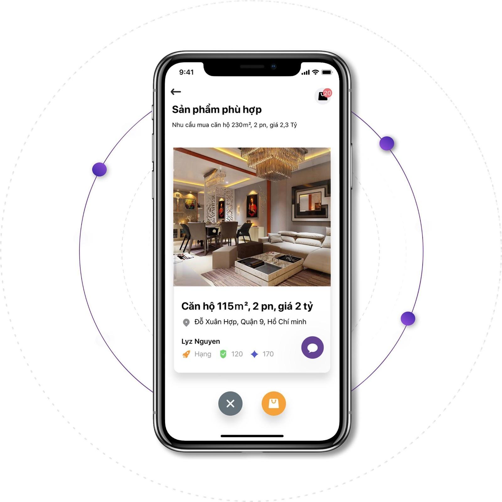 Xu hướng giao dịch bất động sản thông quan app mobile ngày càng phổ biến