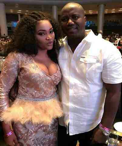 Mercy Aigbe's husband, Lanre Gentry threatens to kill movie producer he suspects to be her lover!