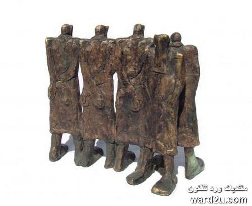 النحات العراقي معتصم الكبيسي