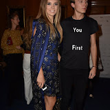 OIC - ENTSIMAGES.COM - Katie Boulter and James Gartshore-Boulter at the  LFW s/s 2016: Sorapol - catwalk show in London 19th September 2015 Photo Mobis Photos/OIC 0203 174 1069
