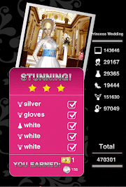 Style Me Girl Level 42  - Princess Wedding - Isabella - Stunning! Three Stars
