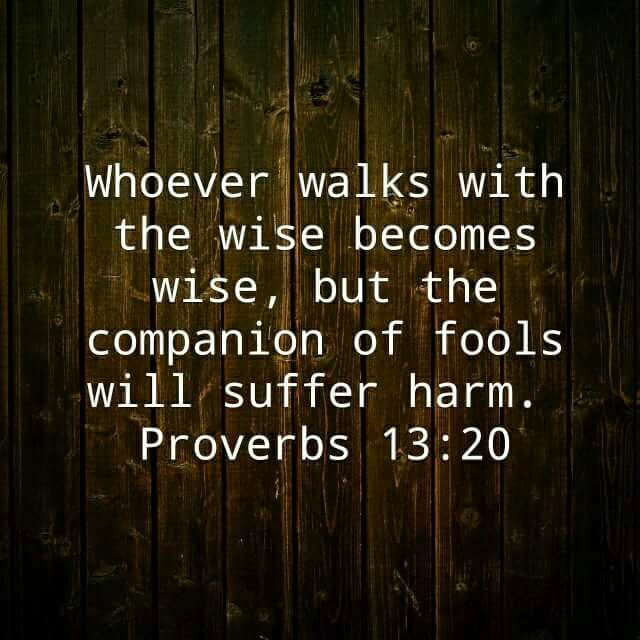 Image result for proverbs 13 20