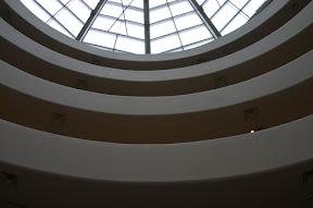 Interior of the Guggenheim