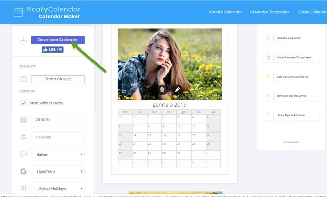 pically-calendar
