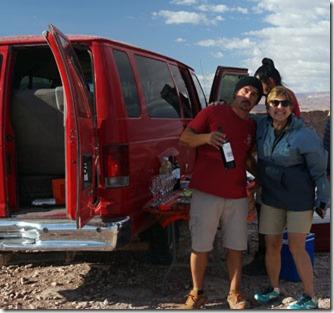 Araya Atacama, coquetel de confraternização