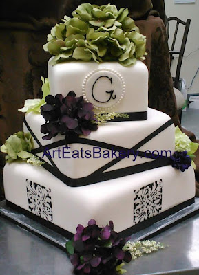 Black And White Wedding Cake 89 Spectacular Romantic three tier round