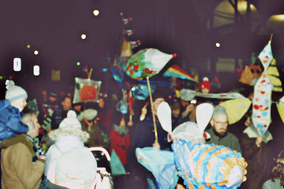 Winter lantern parade Tunbridge Wells December 2105