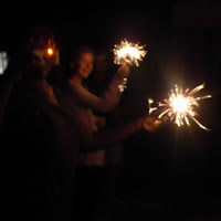 Christmas in Mochudi 2011 - Sparklers