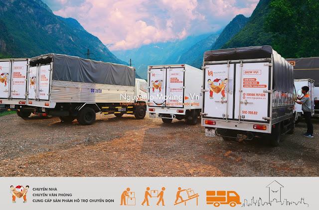 Xe tải chuyển văn phòng NguyenloiMoving®