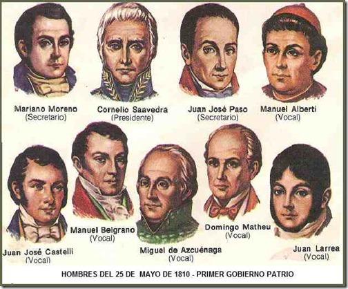 25 de mayo 1810