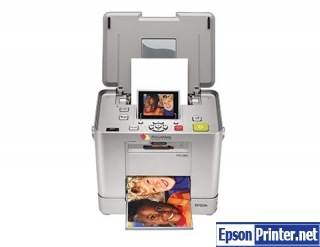 How to reset Epson PM280 printer