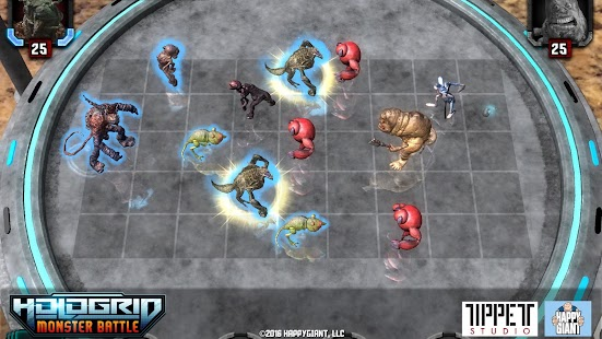 HoloGrid: Monster Battle- screenshot thumbnail