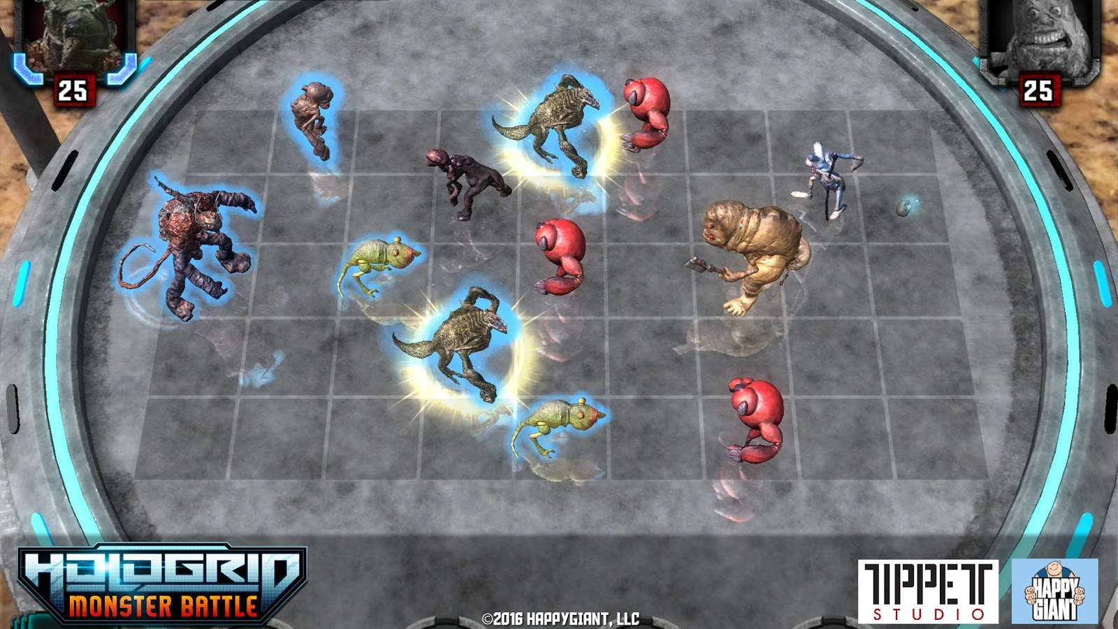 HoloGrid: Monster Battle- screenshot