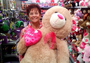 1701042 Jan 20 Barb Gets Her Valentines Bear