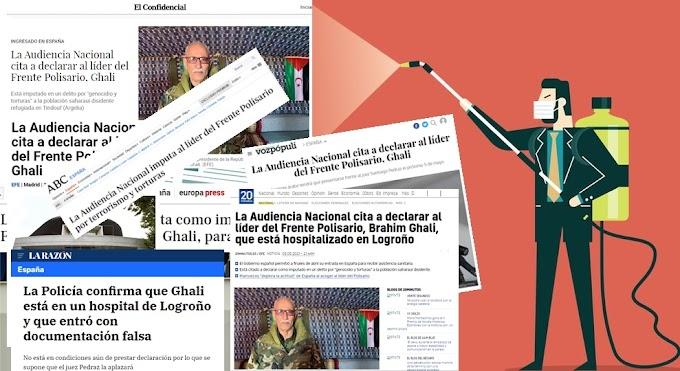 La prensa de España ha 'fabricado' etapas de un proceso judicial contra el presidente saharaui que nunca ha existido.