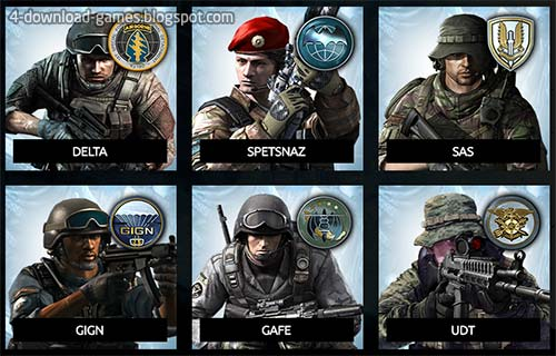 شخصيات القوات الخاصة special units - Skill Special Force 2