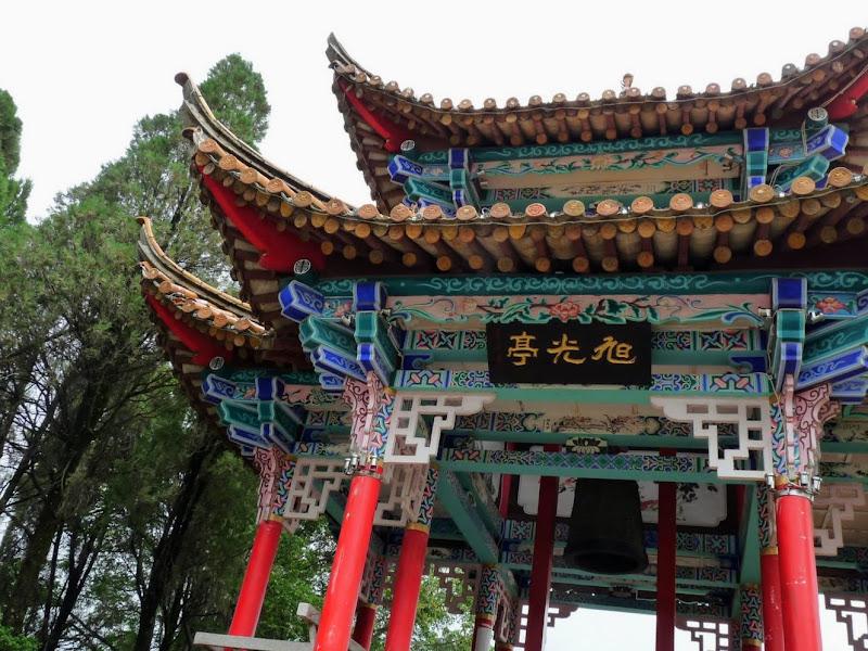 CHINE.YUNNAN.KUNMING , temple Lac Dian Chi - P1270750.JPG