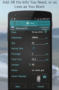 Fuel Buddy - Car Mileage Log - screenshot thumbnail