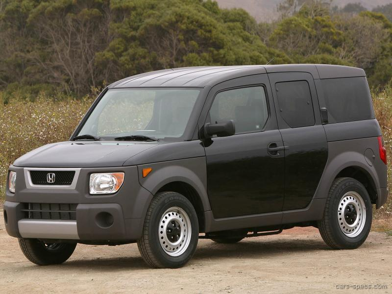 2005 honda element suv specifications pictures prices for Honda element dimensions