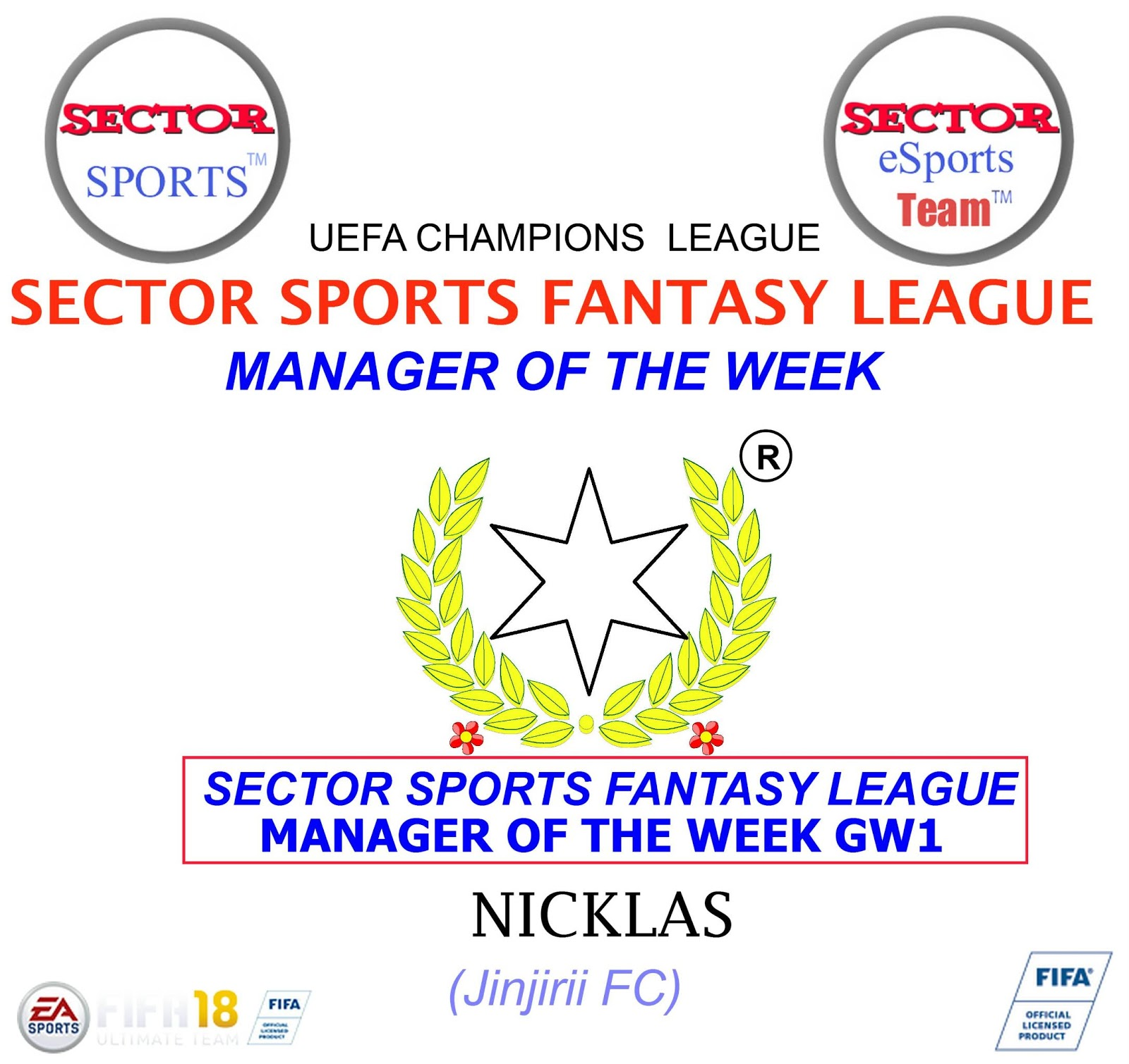 Sector sports champions league fanatsy league table for Championship league table 99 00