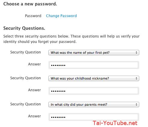 Hình 3 - Những cách bảo mật cho tài khoản iCloud
