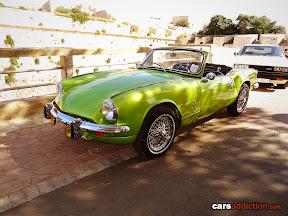 Green Triumph Spitfire