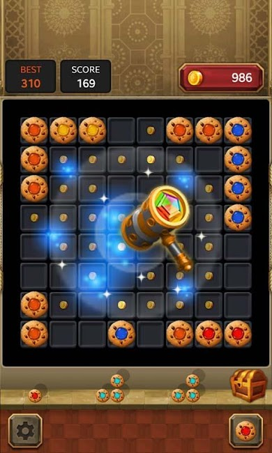 #2. Block Quest : Jewel Puzzle (Android)